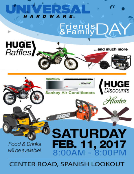 Friends family day 2017 universal hardware news promotions - Family days enero 2017 ...