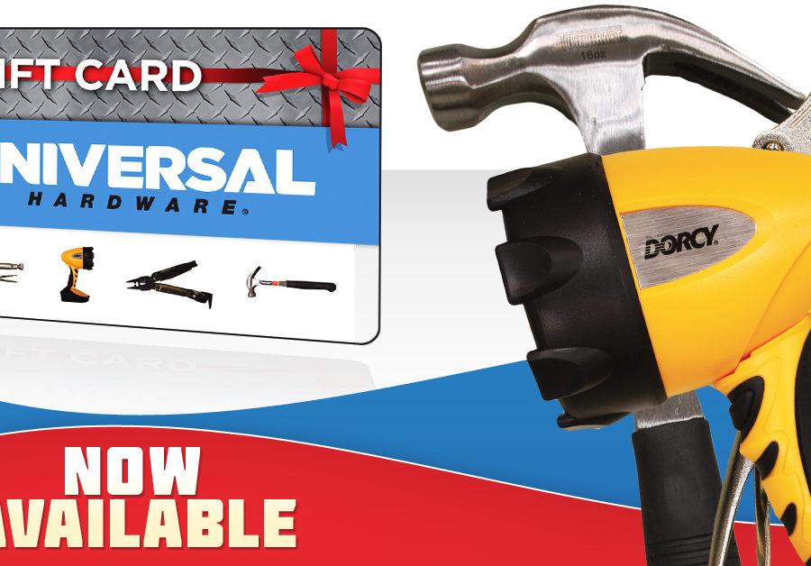 Universal Hardware Gift Cards