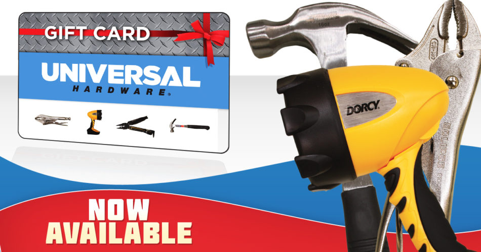 Universal Hardware Gift Cards